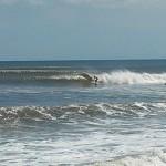 Hurricane Leslie surf - Outer Banks 01