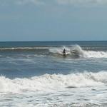 Hurricane Leslie surf - Outer Banks 02