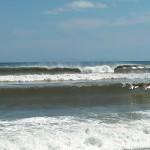 Hurricane Leslie surf - Outer Banks 03
