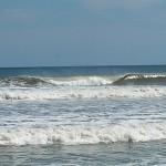 Hurricane Leslie surf - Outer Banks 05