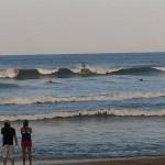 Hurricane Leslie surf - Outer Banks 07