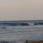 Hurricane Leslie surf - Outer Banks 08