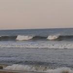 Hurricane Leslie surf - Outer Banks 09
