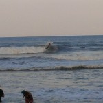 Hurricane Leslie surf - Outer Banks 10