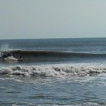 Hurricane Leslie surf - Outer Banks 14