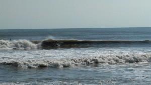 Hurricane Leslie surf - Outer Banks 15