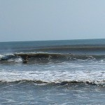 Hurricane Leslie surf - Outer Banks 16