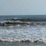 Hurricane Leslie surf - Outer Banks 17