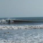 Hurricane Leslie surf - Outer Banks 18