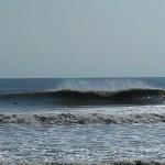 Hurricane Leslie surf - Outer Banks 19