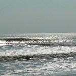Hurricane Leslie surf - Outer Banks 20
