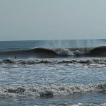 Hurricane Leslie surf - Outer Banks 23