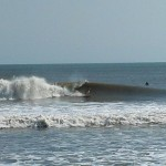 Hurricane Leslie surf - Outer Banks 24