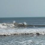 Hurricane Leslie surf - Outer Banks 25