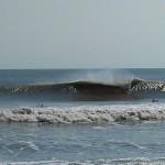 Hurricane Leslie surf - Outer Banks 26