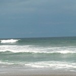Hurricane Leslie surf - Outer Banks 27