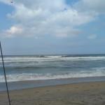 Hurricane Leslie surf - Outer Banks 28