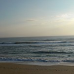 Hurricane Leslie surf - Outer Banks 31