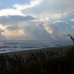 Hurricane Leslie surf - Outer Banks 33