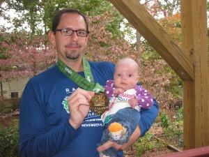 Caitlyn's first half marathon