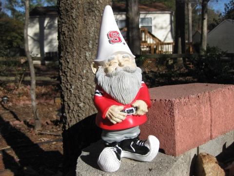 NC State gnome (hard wood profile)