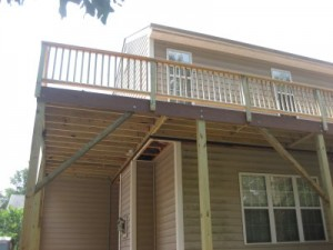Deck and patio project