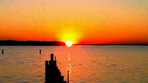 OBX November sunset