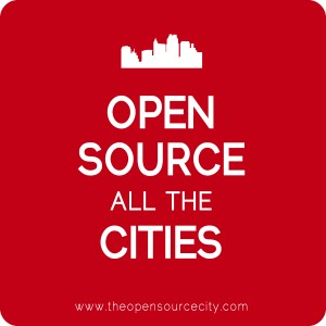Open Source City sticker