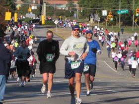 City of Oaks half marathon