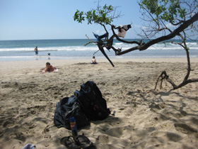 Playa Avellana set-up